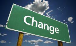 Change Street-Sign