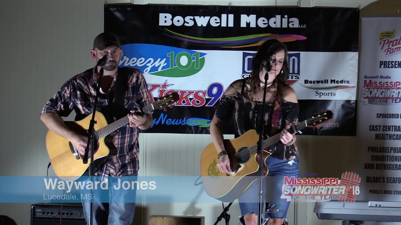 2018 Boswell Media Mississippi Songwriter of the Year
