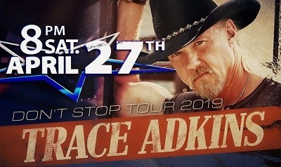 Country Music Star Trace Adkins to Perform Live at Silver