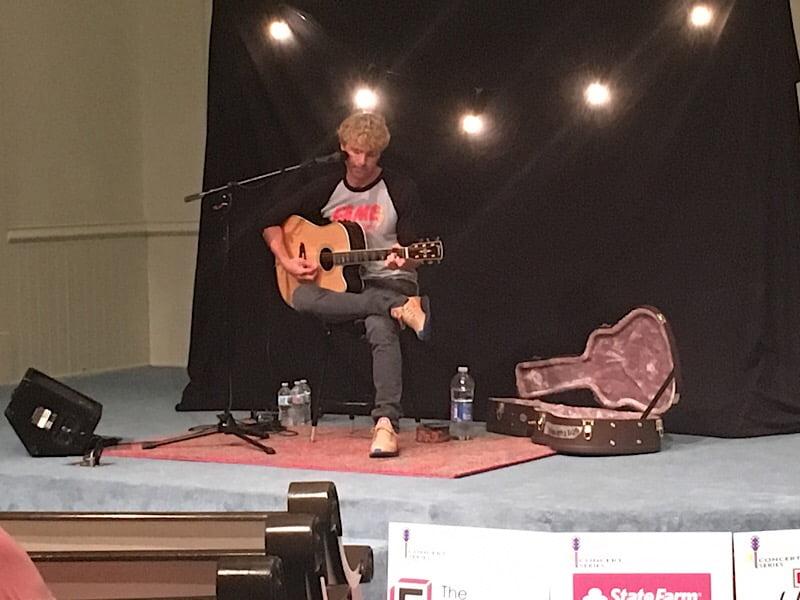 """Video: Derek Norsworthy sings """"Raised by the Radio"""" at KAP"""